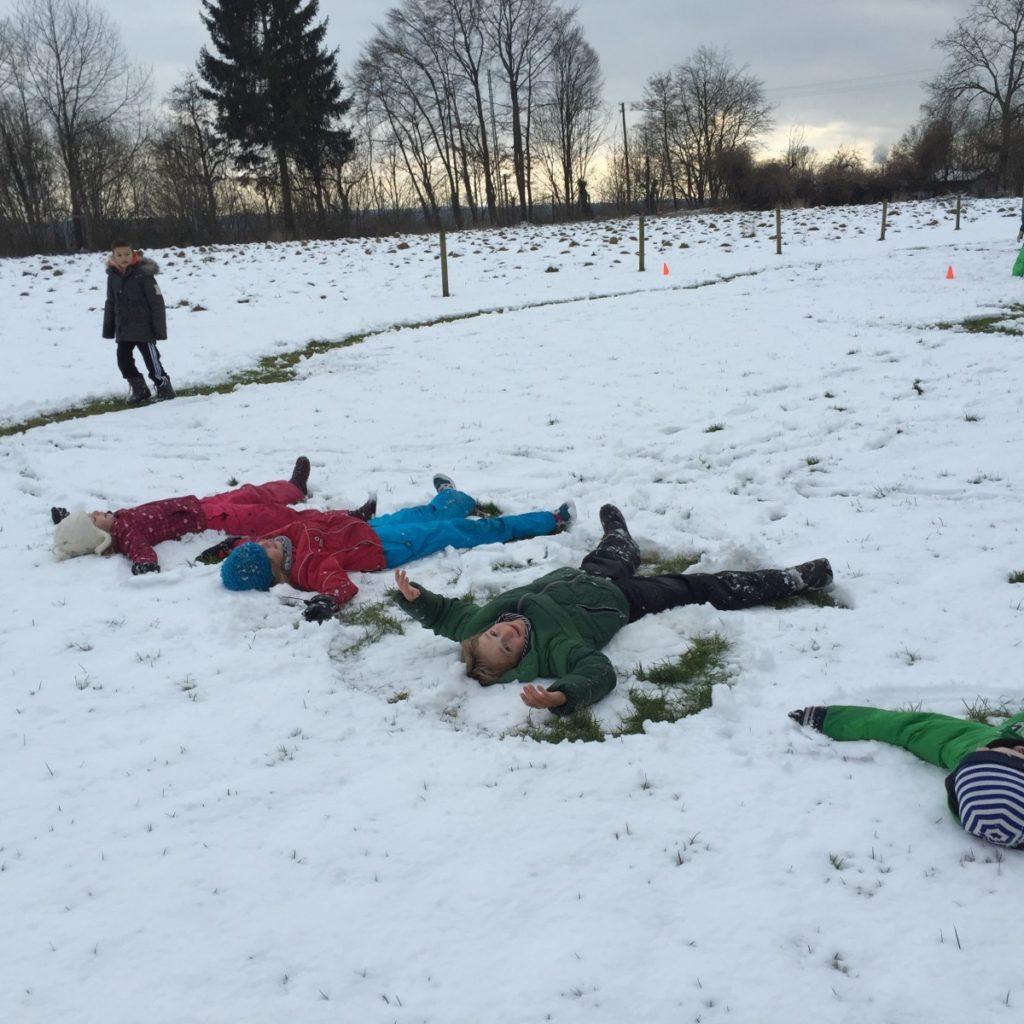 Schneeschuhe selbstgemacht