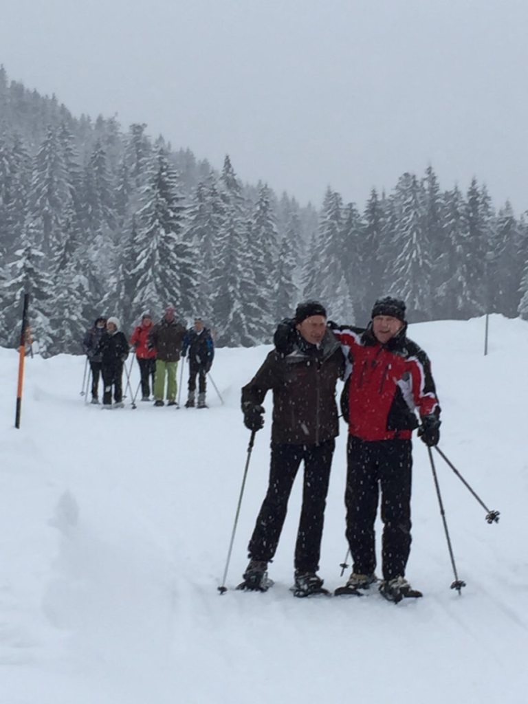Schneeschuhtour ASC Power Walk