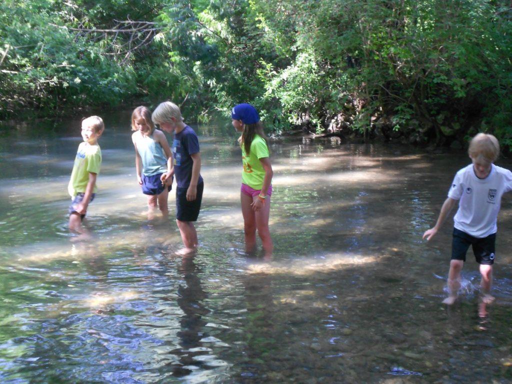 Wasserspaß und Naturerfahrung für Kids